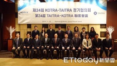 貿協深化台韓產業交流 與大韓貿易投資振興公社攜手合作