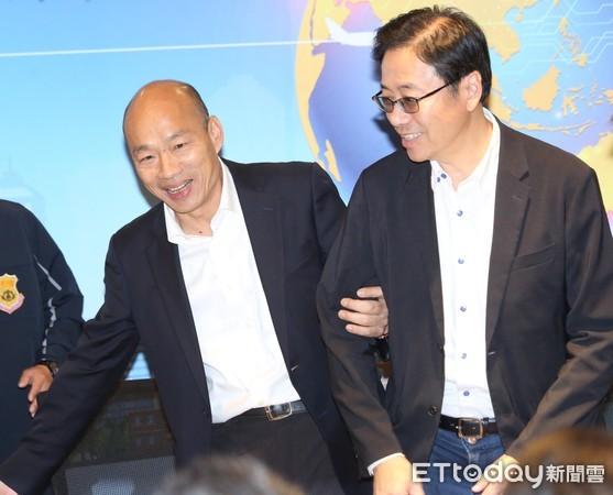 ▲▼韓國瑜與創業家有約座談 張善政。(圖/記者屠惠剛攝)