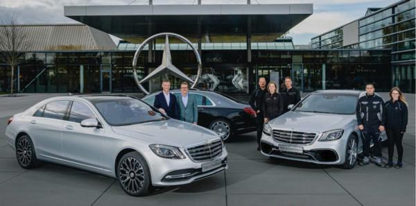 賓士現行W222世代S-Class創下銷售里程碑 第50萬輛新車正式下線(圖/翻攝自賓士)