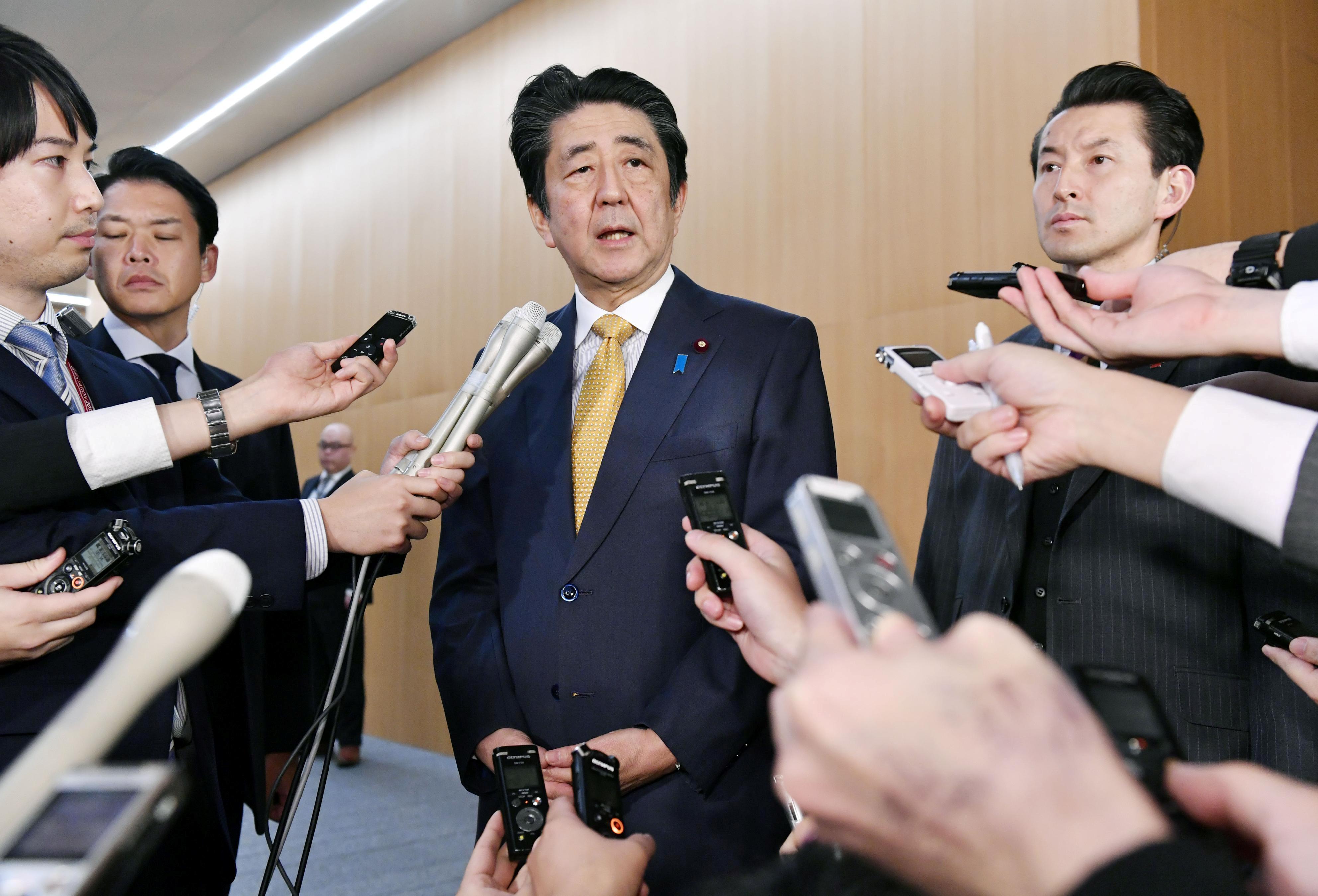 ▲▼日本首相安倍。(圖/路透)