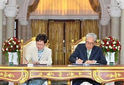 解救香港經濟!林鄭月娥赴泰簽署備忘錄
