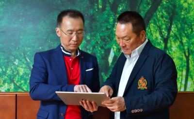 咱們一起登峰 東森新連鎖事業總經理彭振東