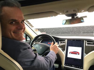 特斯拉Model S開100萬公里還沒壞