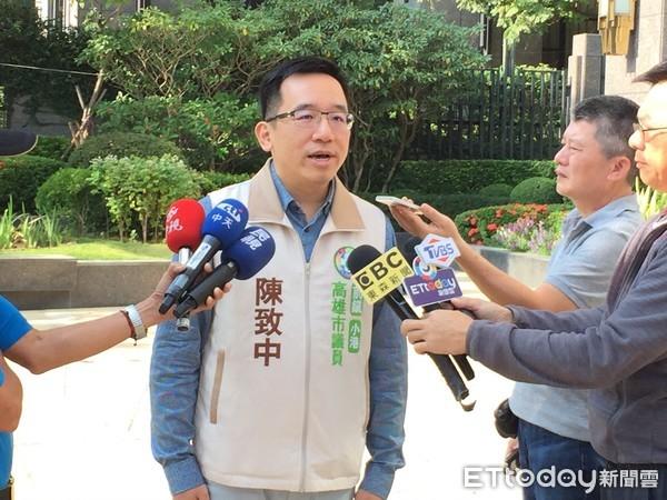 ▲陳致中轟檢察官簽結告發韓國瑜外患罪的案子,荒唐!不敢辦 。(圖/記者翁進忠攝)