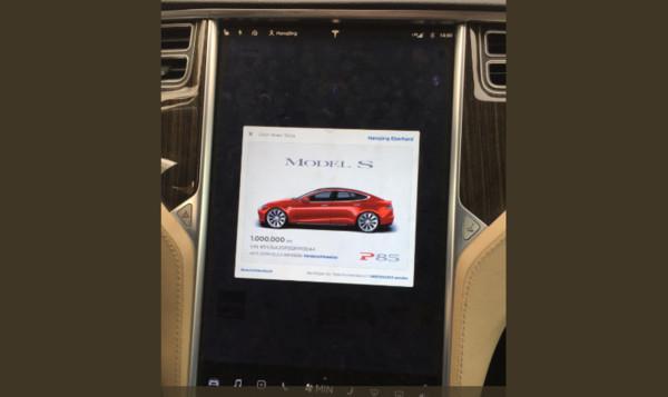 超神特斯拉Model S開了100萬公里還沒壞 5年維修費只花新台幣44萬元(圖/翻攝自Hansjörg Eberhard von Gemmingen推特)