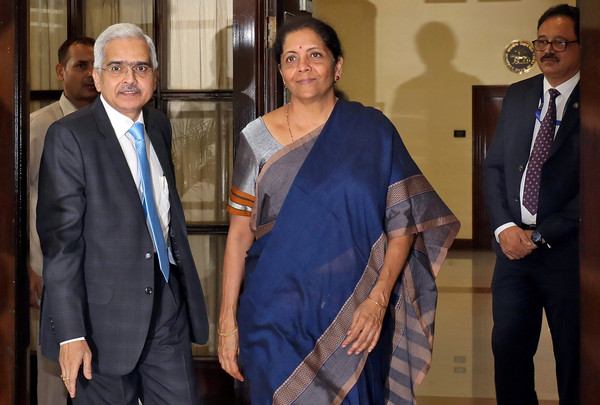 ▲▼印度財政部長Nirmala Sitharaman 。(圖/路透)