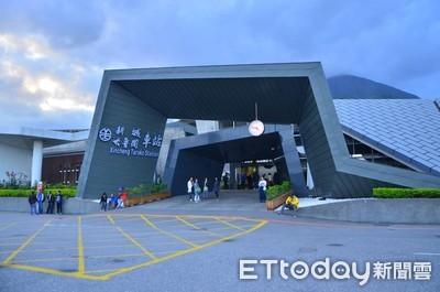 新城站變身太魯閣展示館