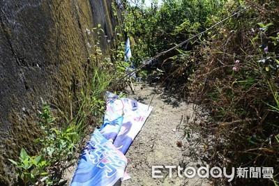 新化警偵破林燕祝旗幟遭毀損案