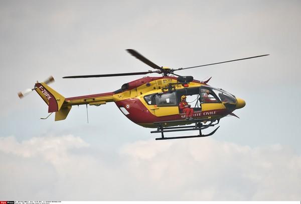 ▲歐直EC145直升機。(圖/達志影像/美聯社)