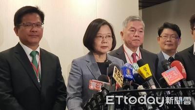 快訊/蔡英文:難道韓國瑜質疑所有民調結果?