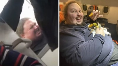搭飛機上二號「屁股肉被真空吸死」!胖男忘了先起身再沖水:我不想死在這