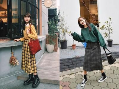 Dappei/「直筒裙」搭出3種風格