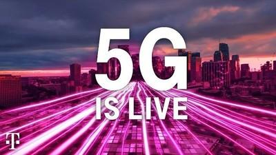 T-Mobile搶先在全美推出5G服務! 但5G手機用戶才能享受飆網速
