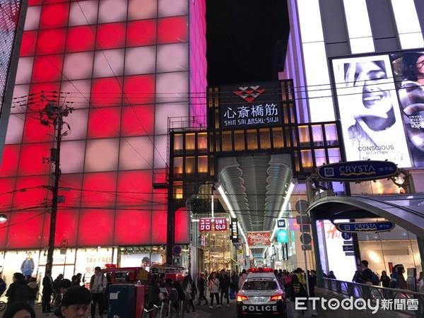 ▲▼大阪心齋橋商店街。(圖/記者許凱彰攝)