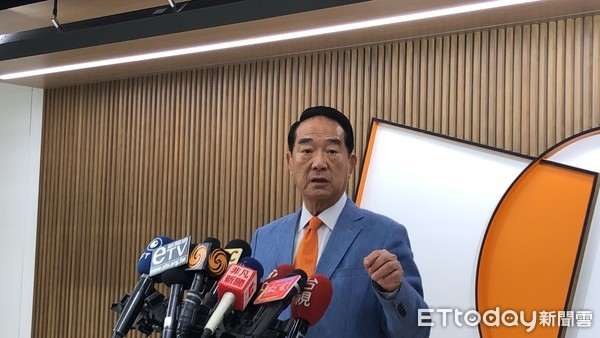 宋楚瑜直播字幕變簡體 親民黨喊告:支持者稱綠網軍開始攻擊