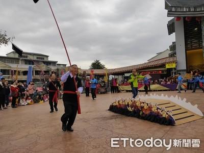過萬斤炭火 宜蘭二結王公文化節6日起登場