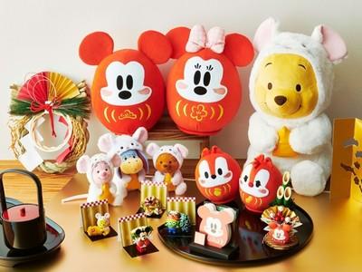 日本迪士尼新年系列,米奇、維尼超喜氣