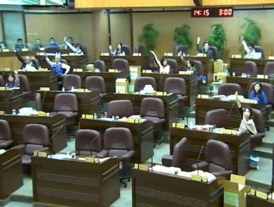 桃園藍軍議員 刪繳庫歲入預算90億