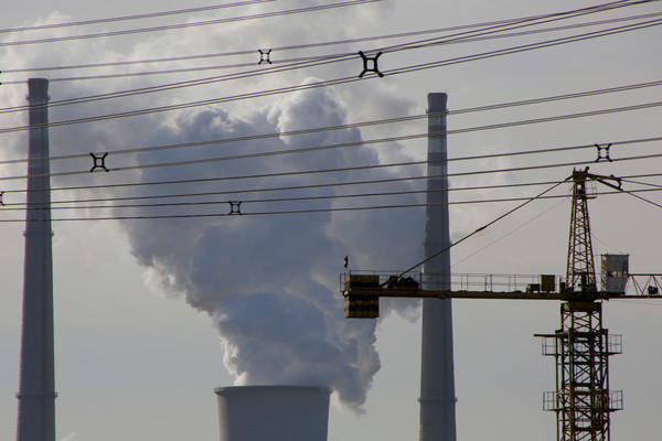 ▲▼ 中國北京某處燃煤發電廠。攝於2016年12月9日。(圖/路透)