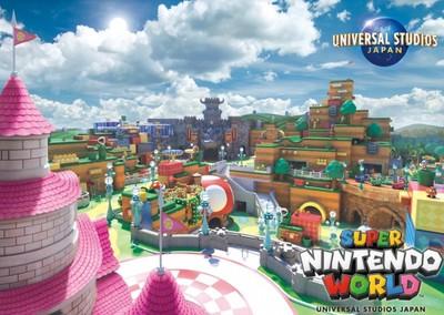 日本環球任天堂樂園遊樂設施曝光