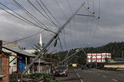 北冕颱風穿呂宋島 菲律賓3死
