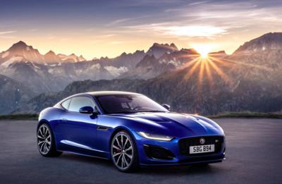 2021 Jaguar F-Type小改款亮相