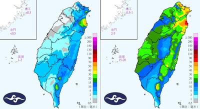 今晨11.2度全台變天雨越晚越明顯 3天防豪大雨地區曝