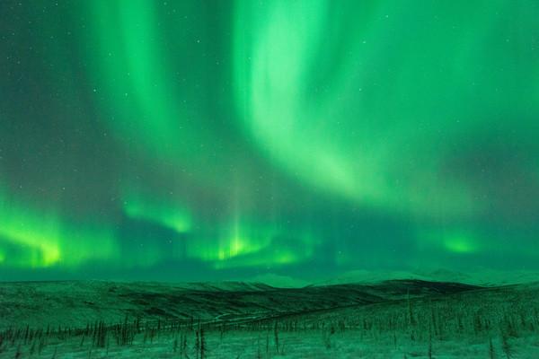 美國阿拉斯加最美「世界極光之都」 一年有8個月都能追極光