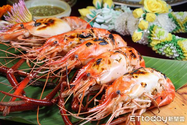 泰國蝦無限供應 亞昕福朋喜來登首度推出泰國宮廷料理吃到飽