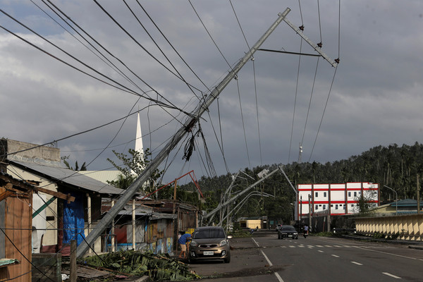 ▲▼北冕颱風登陸菲律賓。(圖/路透)