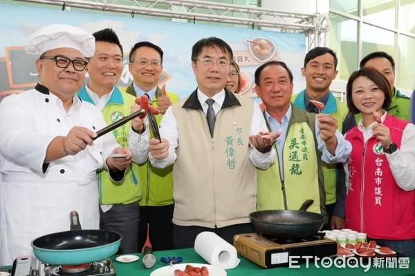 推廣台南市自有品牌優質豬肉 黃偉哲力薦「上品豚」健康上市