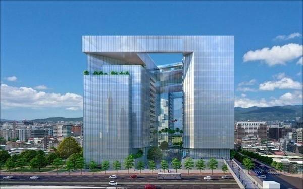 京華城熄燈後,預計明年拆除,改建為4棟頂級商辦。(威京集團提供)