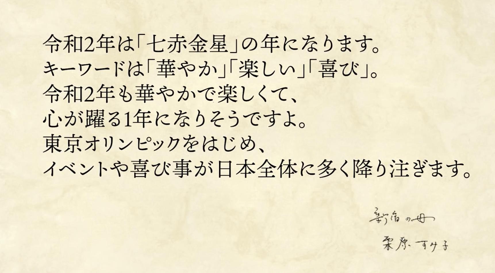 ▲2020生日運勢  。(圖/翻攝自YouTube占いスタイル)