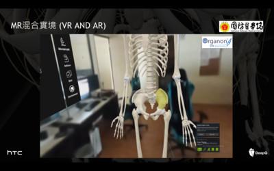 宏達電DEEPQ攜手國防醫學院 首創全台最大MR解剖學教室