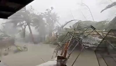 北冕颱風襲菲國10死 數百航班取消