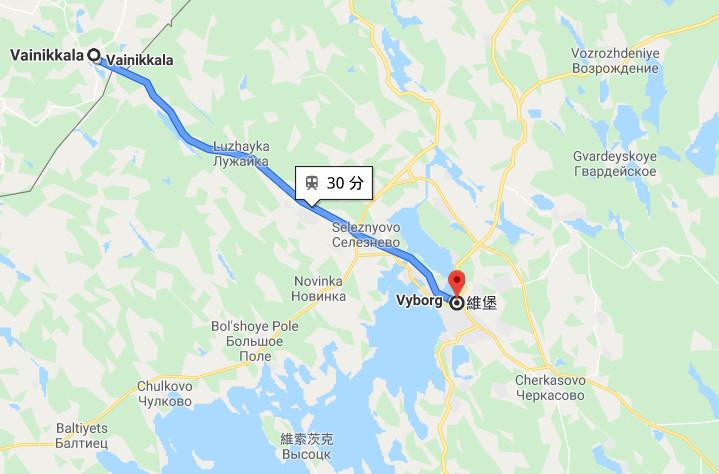 ▲▼俄羅斯人販設假邊境哨 騙4偷渡客「芬蘭到了」爽賺136萬…搭火車還要30mins。(圖/翻攝自「Google map」)
