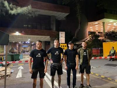 烏克蘭新納粹分子現身香港反送中街頭