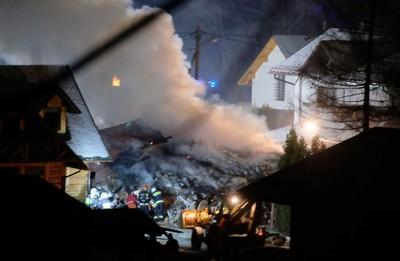 波蘭滑雪勝地氣爆 3層樓別墅「秒移為平地」釀2死