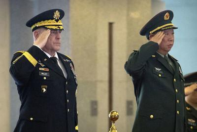 香港人權法案通過後 美中兩軍參謀長首次通話