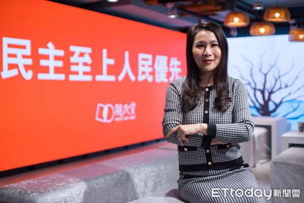 ▲親民黨不分區立委提名劉宥彤專訪。(圖/記者林敬旻攝)
