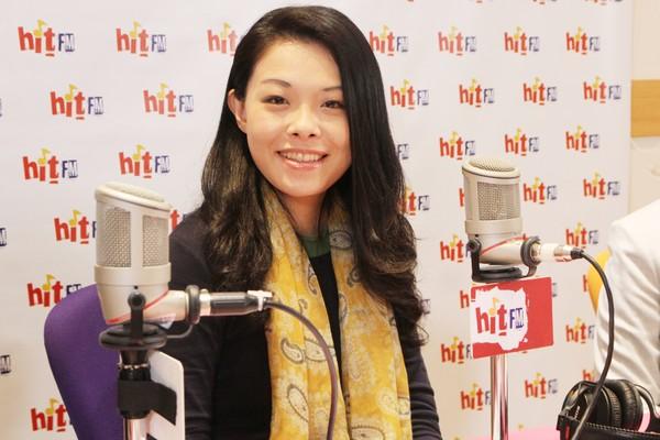 ▲▼蔡壁如、高虹安接受電台專訪。(圖/「Hit Fm《周玉蔻嗆新聞》製作單位提供)