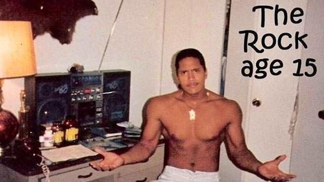 巨石強森15歲像40歲!自嘲小時候被當「秘密探員」 老師同學都遠離他