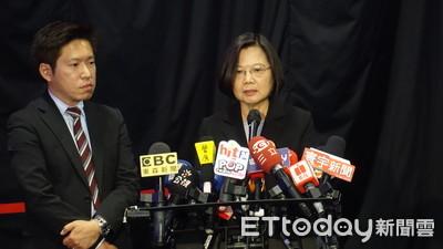 蔡英文回擊韓國瑜「扮演上帝說」:政府不是上帝!人民才是主人