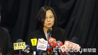 韓陣營稱「楊蕙如讓內部民調高8趴」?蔡英文傻眼:他不是不相信民調