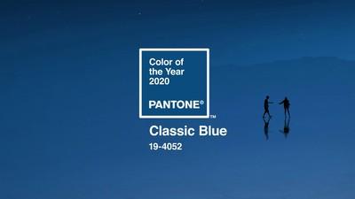 Pantone 2020代表色「經典藍」
