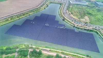 水庫上放太陽能板 南市:無害水質