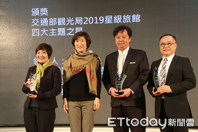 池上日暉渡假村獲觀光局「2019年度之星」飯店