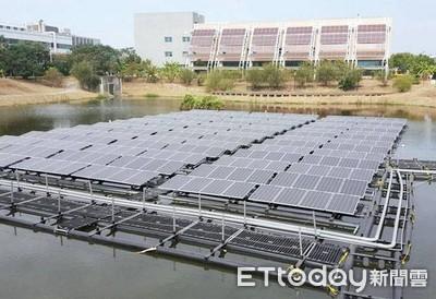 浮動式太陽光電兼顧生態與環境