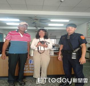 外籍交換生遺失相機 警察找尋…失主訝異