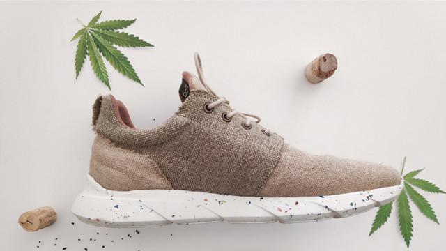 這雙鞋有夠純!世界第一款「大麻葉製防水鞋」 台灣竟是亞洲首發國